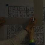 tableau des multiplications collectif 3x7 et 7x3