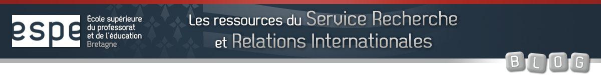 Le service recherche et relations internationales