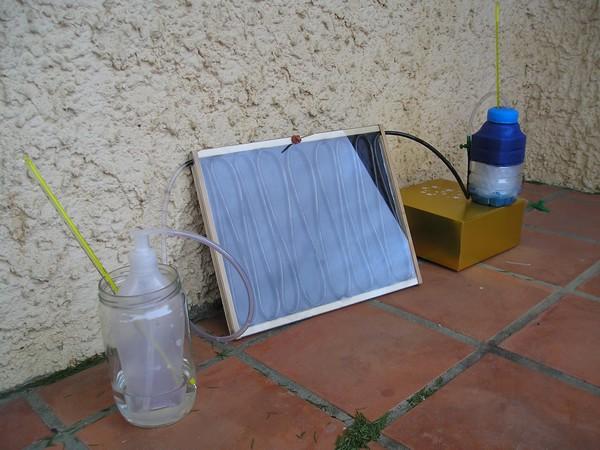 fabriquer un chauffe eau solaire capteur solaire tubes m fabriquer un chauffe eau solaire. Black Bedroom Furniture Sets. Home Design Ideas